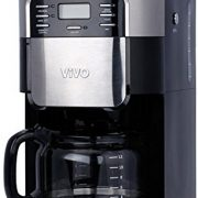 Vivo © 1.5L Bean to Cup Digital Stainless Steel Filter Coffee Maker Machine With Integrated Grinder Barista Top Rated Coffee Machines